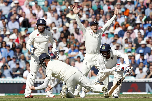 Engaldn are at top at the Oval against India