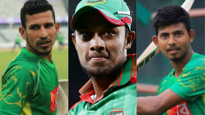 Bangladesh Cricket Board calls Sabbir, Nasir and Mosaddek for hearing