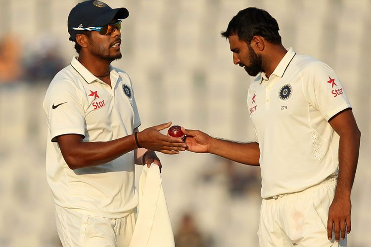 Mohammad Shami and Umesh Yadav will most likely shoulder the fast bowling duties
