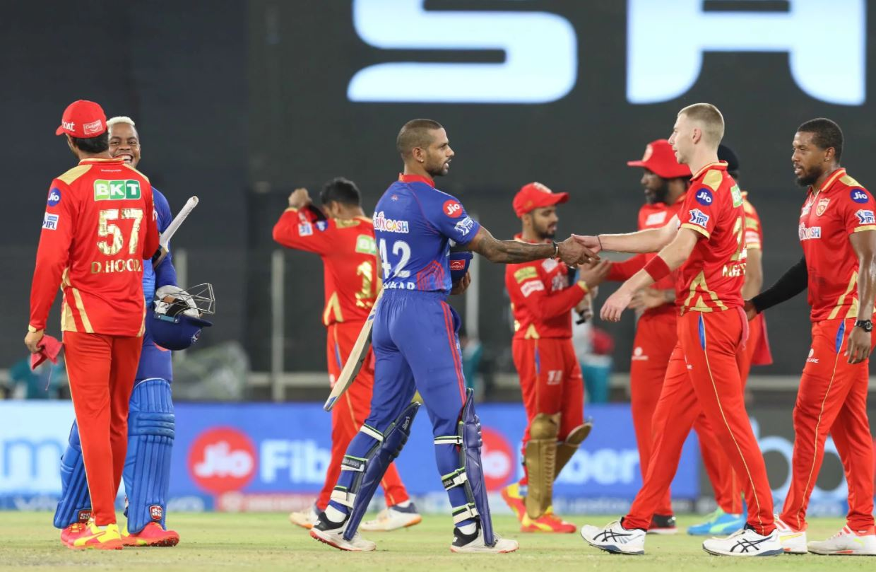 DC won over PBKS by 7 wickets and went to the top of the table | BCCI/IPL