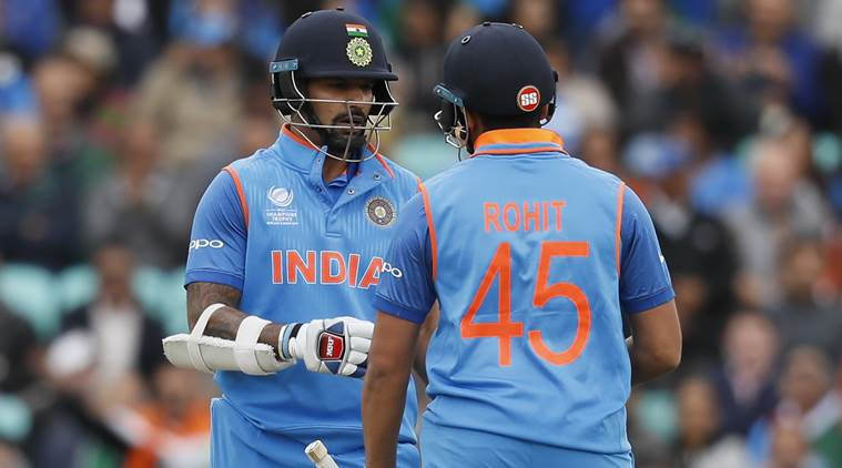 Dhawan and Rohit are one of the top opening pairs in ODI cricket today | GETTY