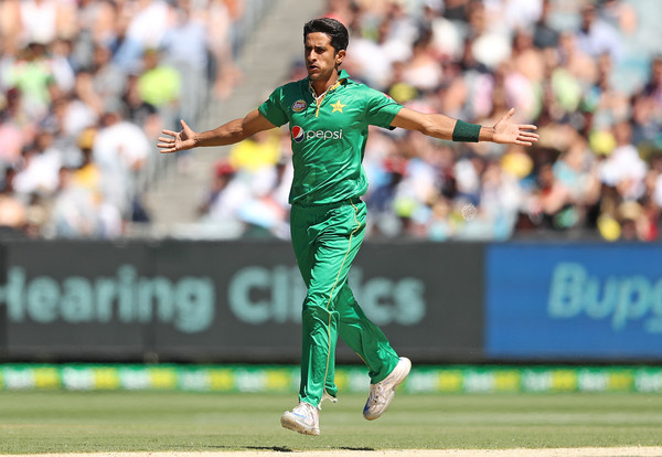 Hasan Ali won the ICC Emerging Player of the Year Award. (Getty)