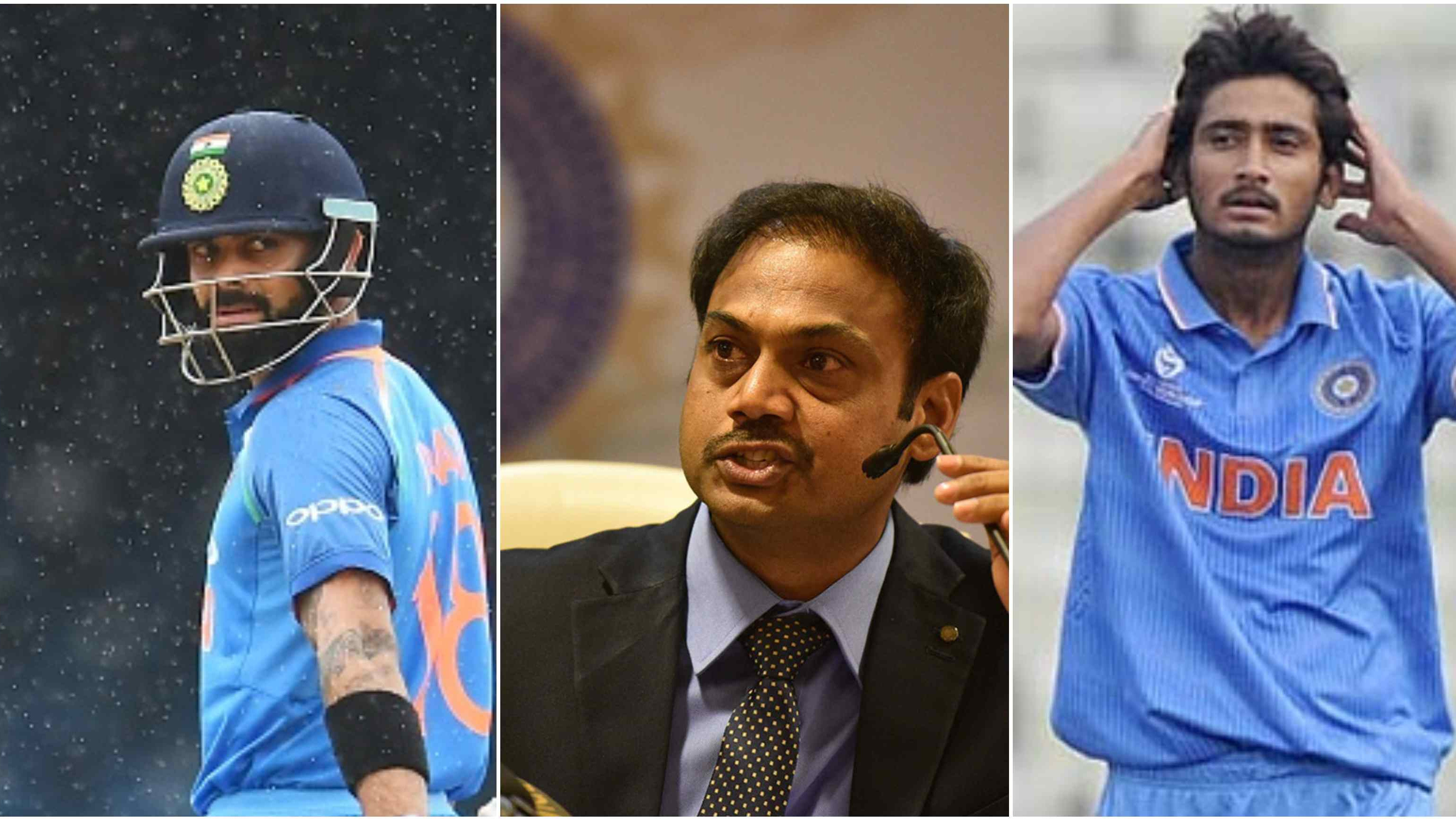 MSK Prasad explains why Kohli was rested for Asia Cup and the logic behind Khaleel Ahmed's inclusion