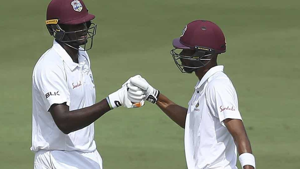 IND v WI 2018: 2nd Test, Day 1 – Roston Chase 98* and Jason Holder 52 take Windies to 295/7