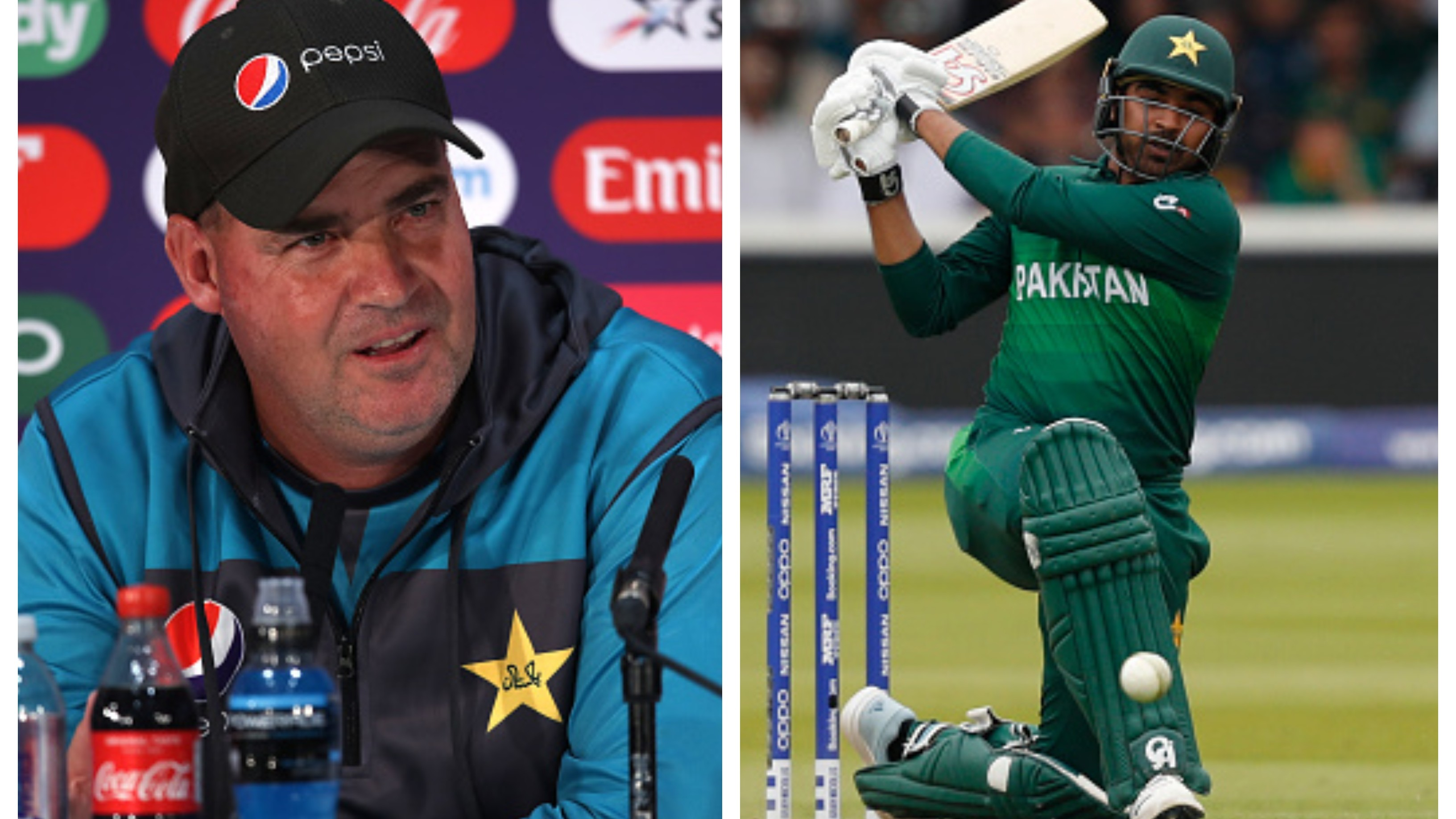 CWC 2019: WATCH – Pakistan coach Mickey Arthur lashes out at journalist for negative remarks on Haris Sohail