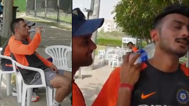 Asia Cup 2018: WATCH- Indian cricket players fighting heat in UAE in an innovative yet funny way