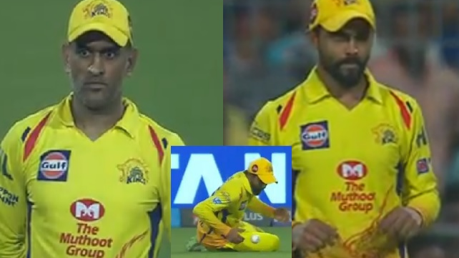 WATCH: Ravindra Jadeja's two consecutive drop catches leave MS Dhoni furious