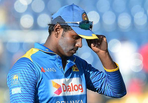 Angelo Mathews to miss the remaining tri-series matches owing to hamstring injury