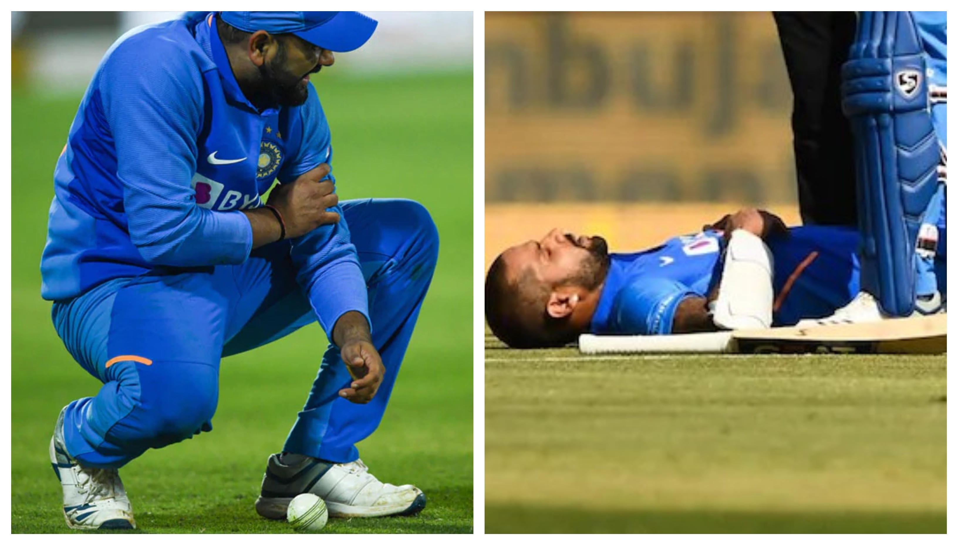 IND v AUS 2020: BCCI issues injury update on Dhawan, Rohit before the series decider