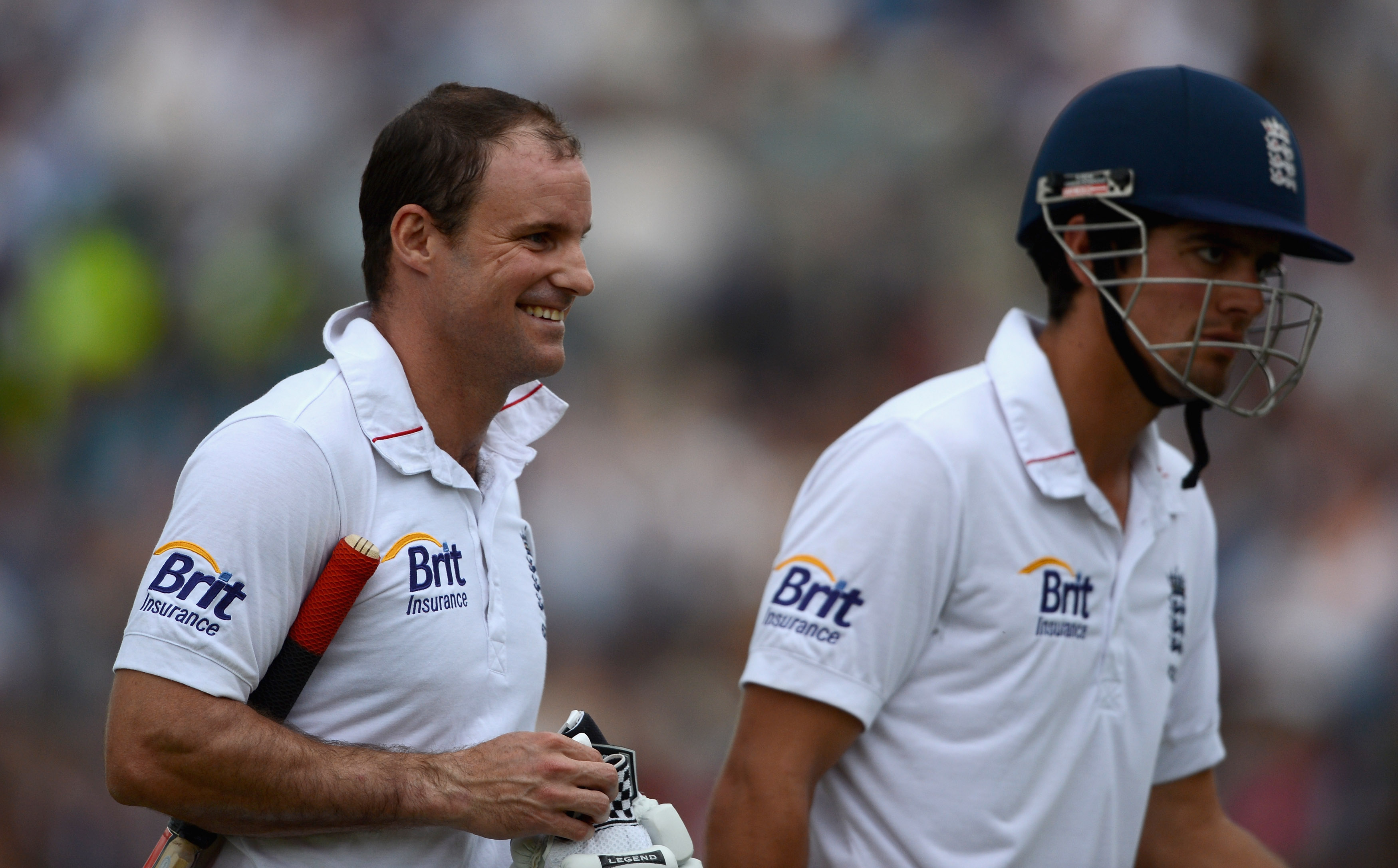 Strauss and Cook were a fantastic opening pair for England. | Getty