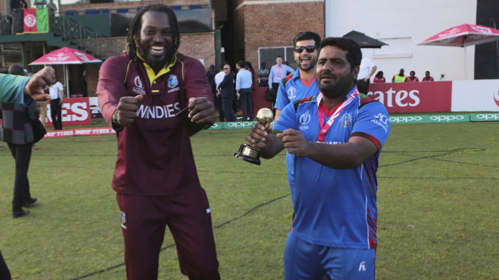 Watch: Mohammad Shahzad and Chris Gayle dance after ICC World Cup Qualifiers final