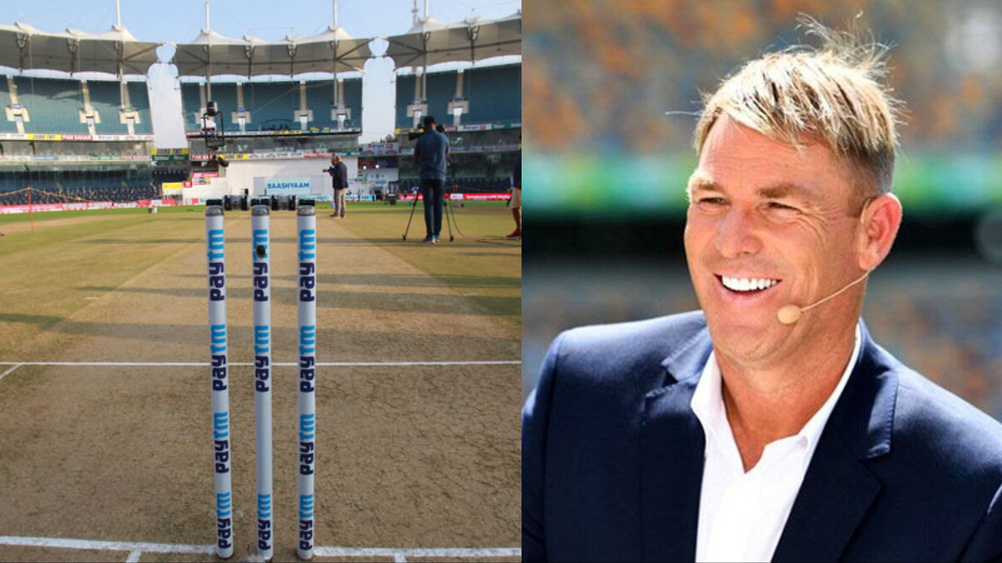 IND v ENG 2021:  Shane Warne takes dig at former cricketers for criticizing Chennai pitch as India posted 615 runs