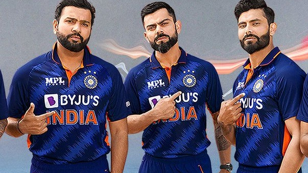 Fans react to Team India's new jersey for the upcoming T20 World Cup