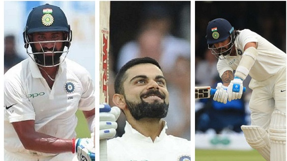 Stats : Virat Kohli vs Other Indian batsmen in Tests away from home in 2018