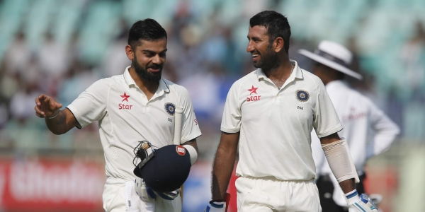 Ganguly and Sehwag feel Kohli and Pujara will decide India's fate in England | AFP
