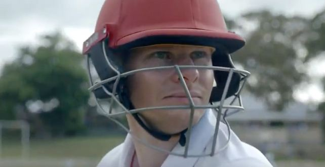 Steve Smith during teh commercial | Youtube