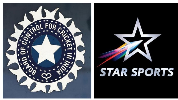 BCCI Media Rights goes to Star Sports India for a astronomical sum of Rs 60.1 crore per game