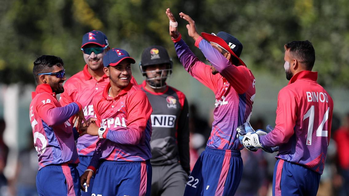 Khadka's historic ton versus UAE paves way for Nepal's maiden ODI series win