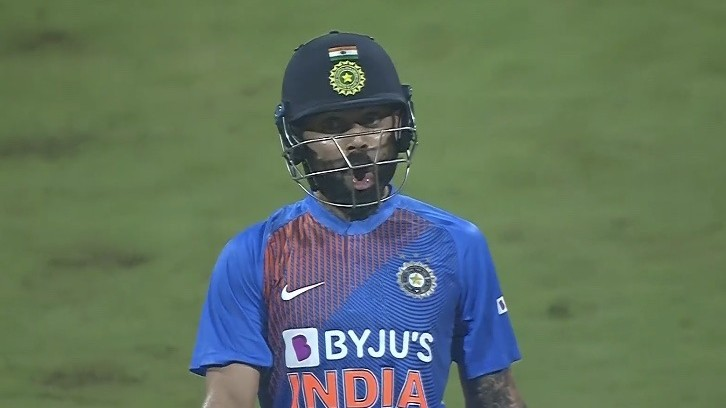 IND v WI 2019: WATCH – Virat Kohli's amazing reaction after hitting Kesrick Williams for a six