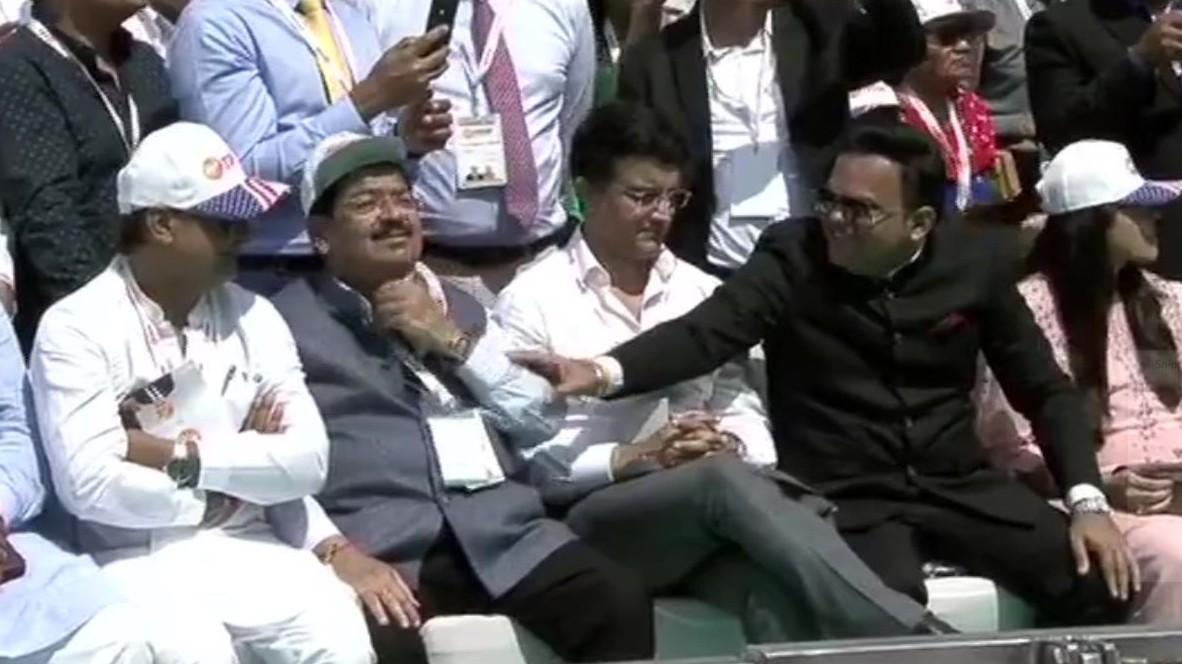 BCCI President Sourav Ganguly, Secretary Jay Shah among eminent personalities at 'Namaste Trump' event