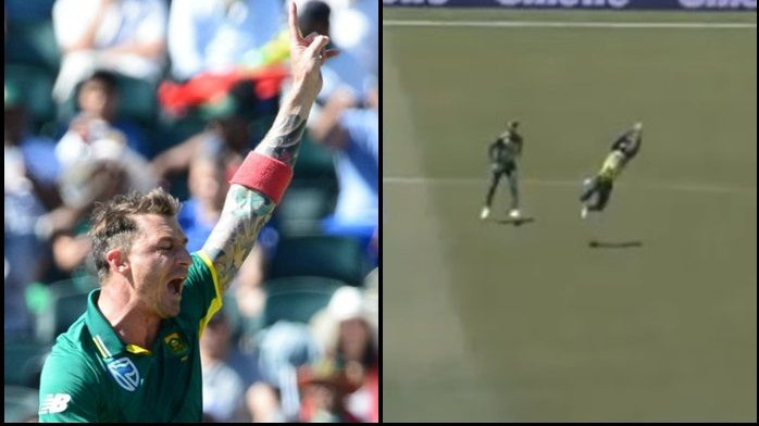 AUS v SA 2018: WATCH – Faf du Plessis takes a stunning catch off a firing Dale Steyn