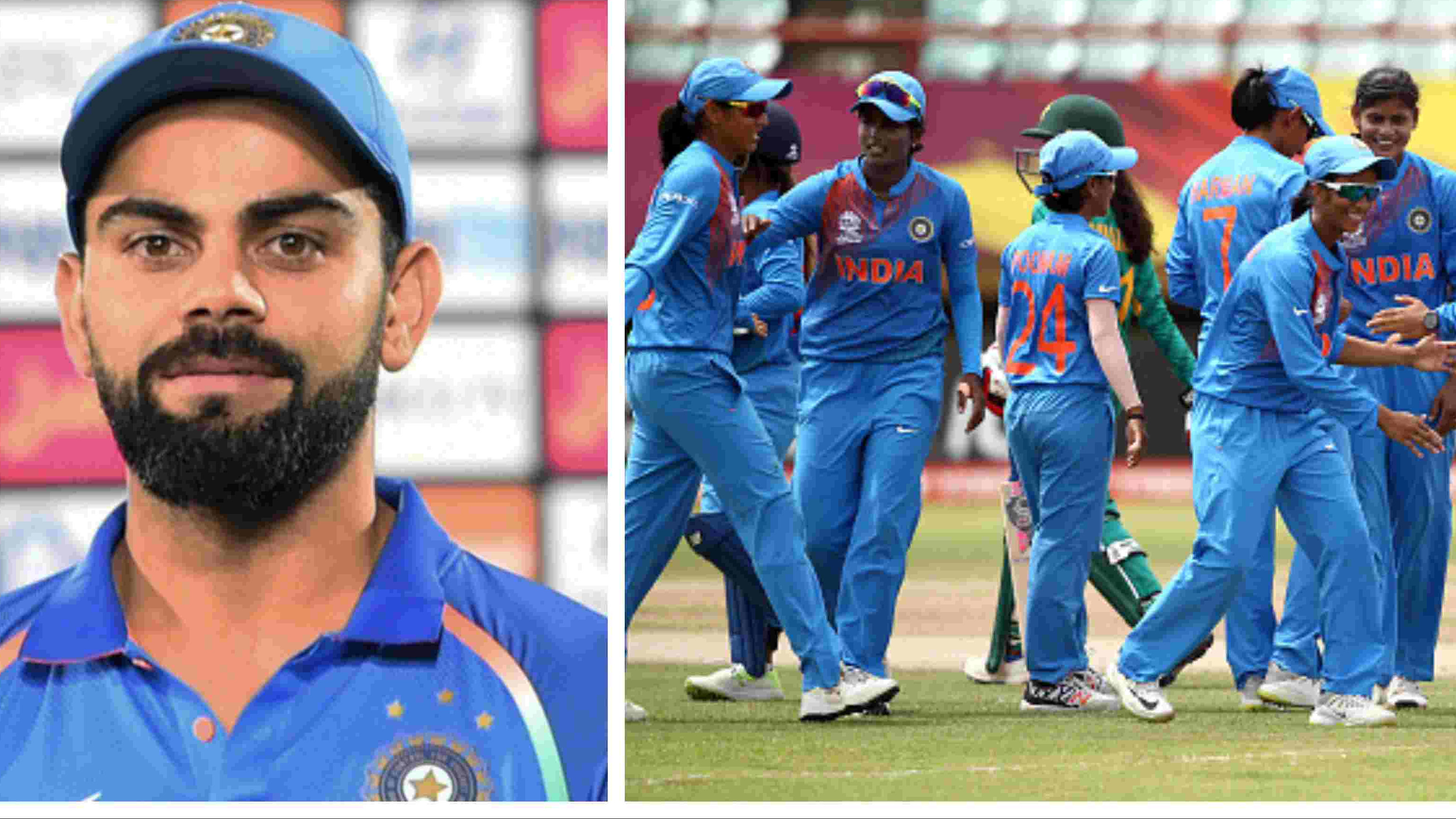ICC Women's World T20: Virat Kohli sends positive vibes for Team India ahead of Ireland tie