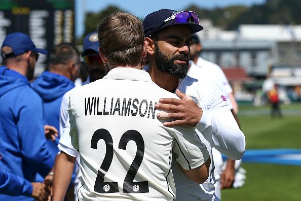 Kane Williamson and Virat Kohli | GETTY