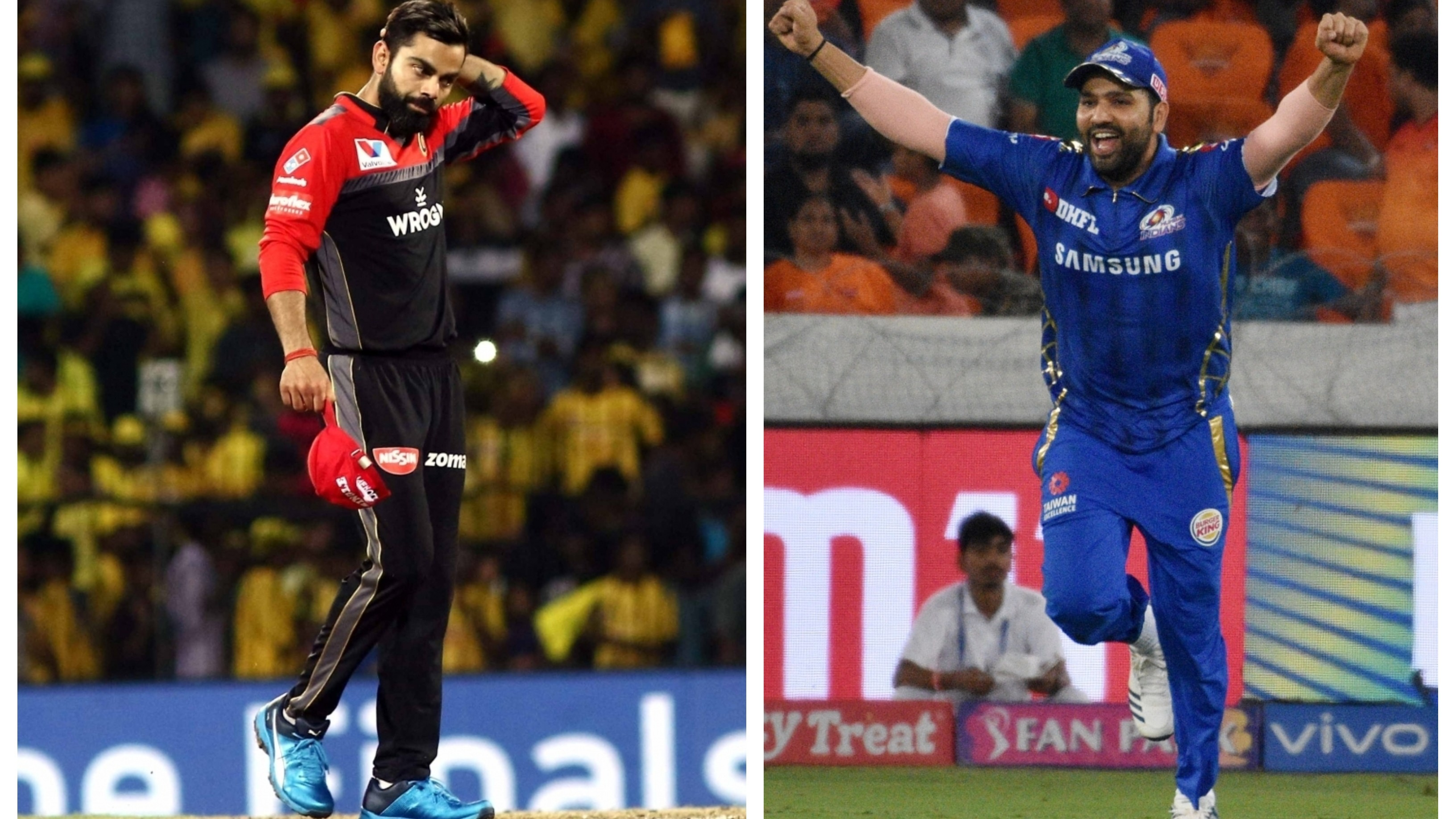 IPL 2019: Fans want Rohit Sharma to lead Team India during the World Cup after Virat Kohli-led RCB's sixth successive loss