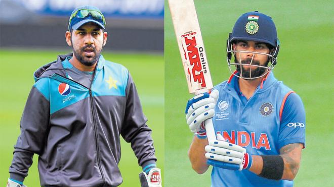 Sarfraz Ahmed justifies his on-field aggression by giving Virat Kohli's reference