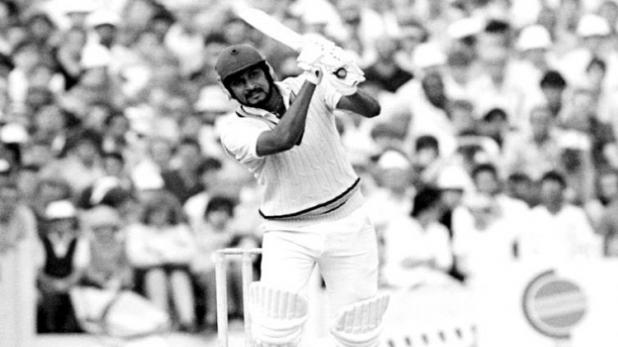 Sandeep Patil hit Bob Willis for 6 fours in an over in 1982 Old Trafford Test