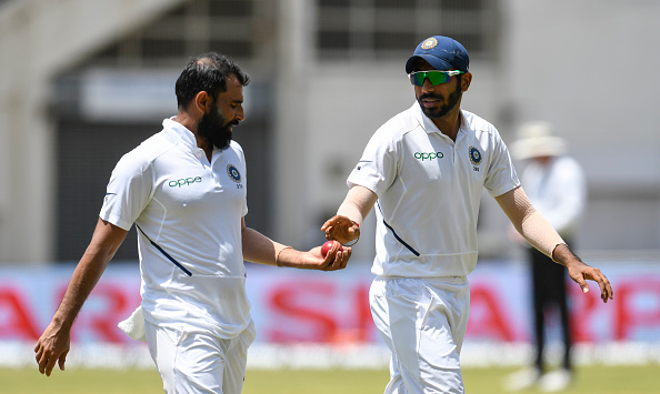Bumrah and Shami bowled exceptionally well in the warm-up clash against NZ XI | Getty