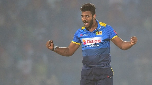 Sri Lanka cricketer Shehan Madushanka detained over illegal possession of drugs
