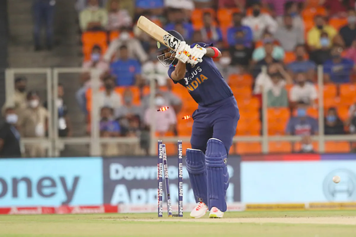 KL Rahul has scored 1 run in 3 T20Is against England | Getty