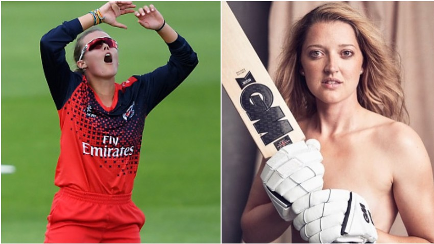 Alex Hartley trolls and questions Sarah Taylor over her new photo holding a bat in buff