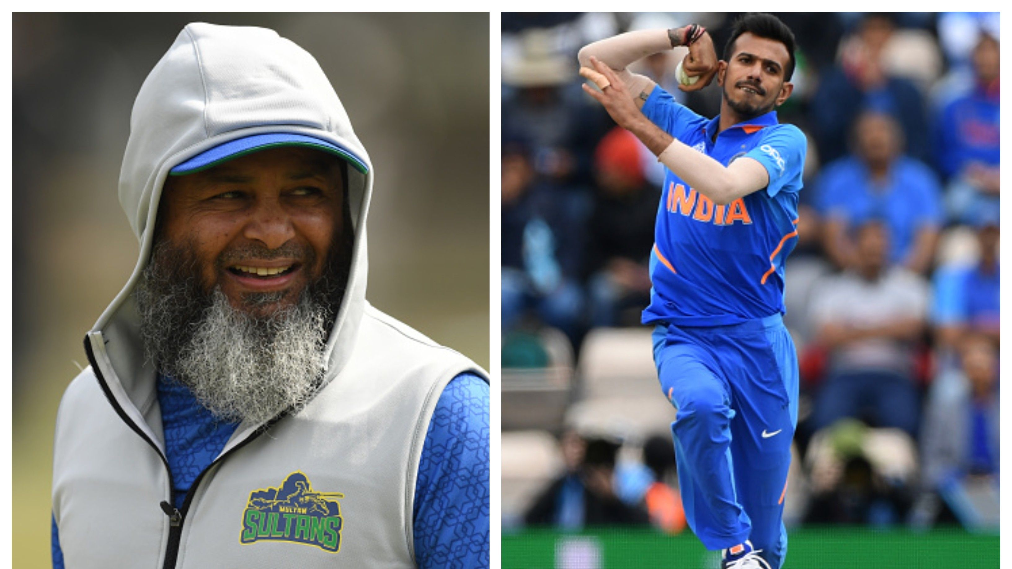 Mushtaq Ahmed offers word of healthy advise to Yuzvendra Chahal