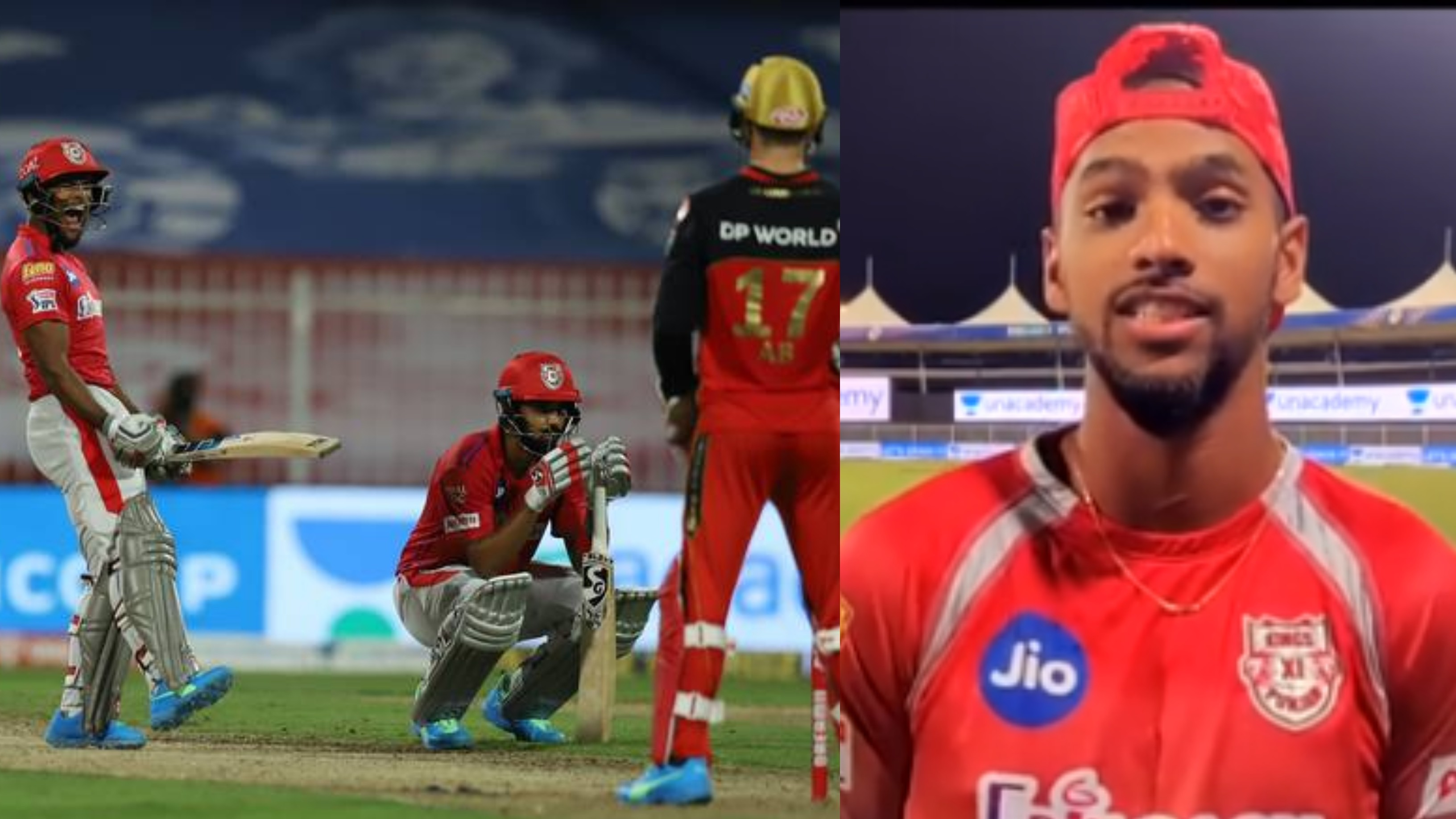 IPL 2020: WATCH - Nicholas Pooran opens up about his last-ball sixer; says it was like