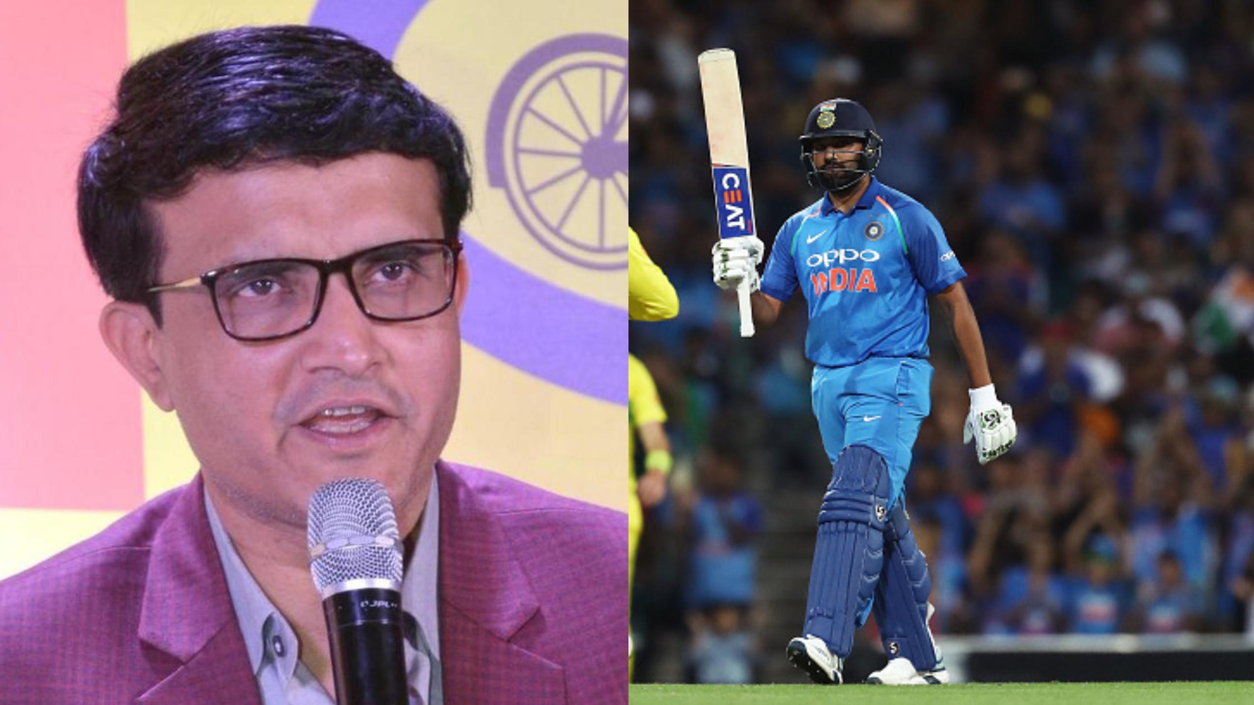 सौरव गांगुली ने कहा हैं कि रोहित शर्मा पिछले 3 साल में शानदार क्रिकेटर बन गए हैं