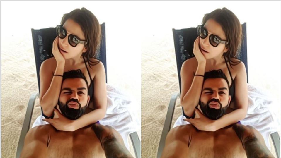 विराट कोहली ने पत्नी अनुष्का के साथ पोस्ट की फोटो, फैंस ने दी प्रतिक्रिया