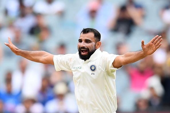 Mohammad Shami | Getty Images