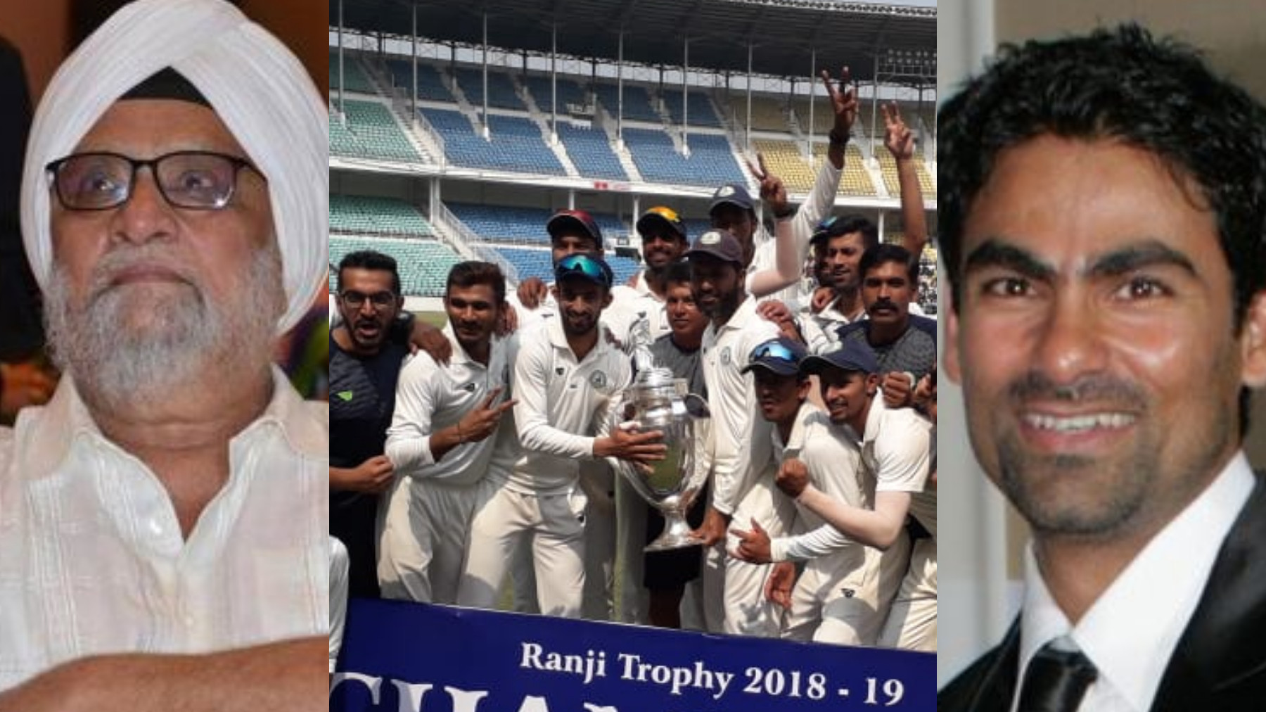 Indian Cricket fraternity congratulates Vidarbha on their second Ranji Trophy title win