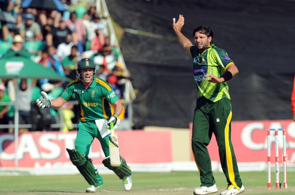 Shahid Afridi named AB de Villiers as his favourite batsman to bowl at | Getty