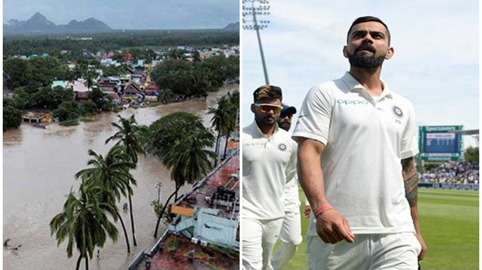 Virat Kohli urges the floods-struck Kerala people to