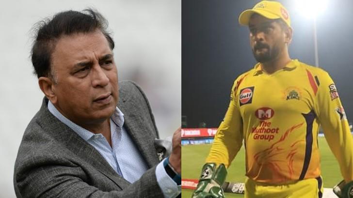 IPL 2020: Sunil Gavaskar lauds MS Dhoni, says he's the best captain India has ever produced