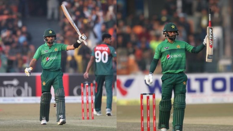 PAK v BAN 2020: Babar and Hafeez half-centuries take Pakistan to 2-0 lead in T20I series