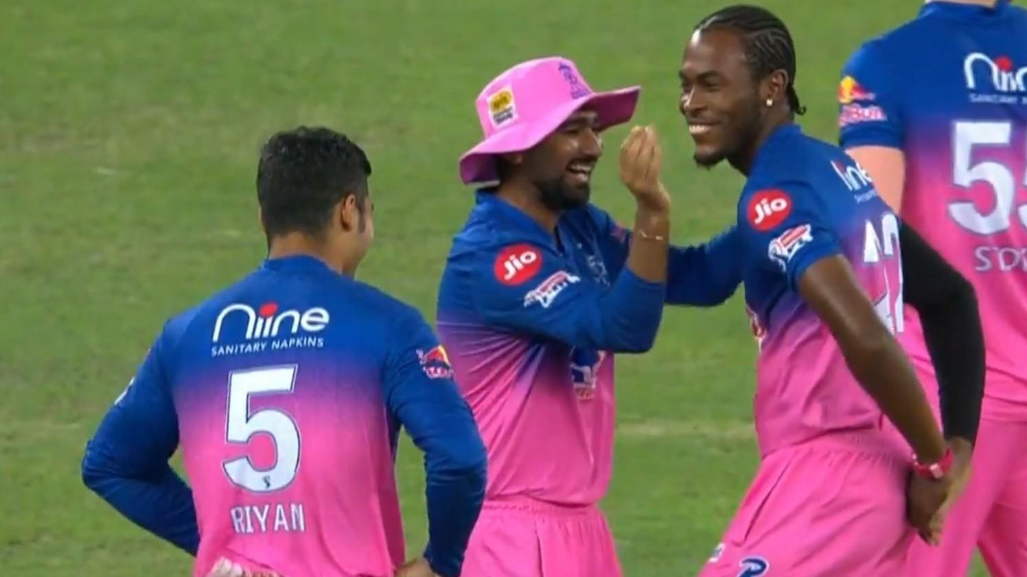 IPL 2020: WATCH- Jofra Archer celebrates first-ball wicket of Shaw with Bihu dance