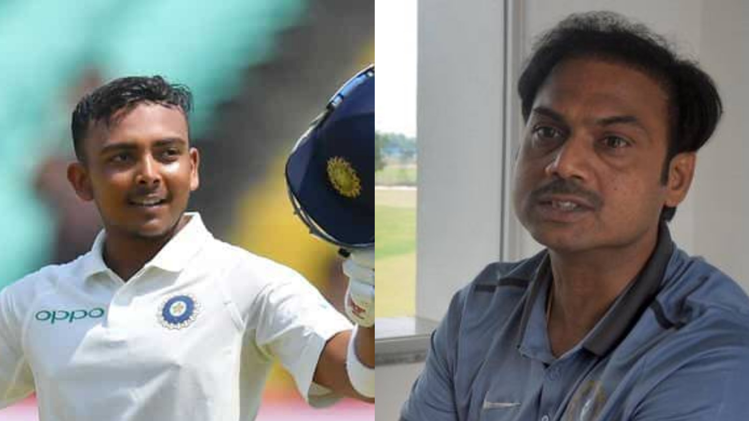IND v WI 2018: MSK Prasad lauds Prithvi Shaw's scintillating debut century in first Test