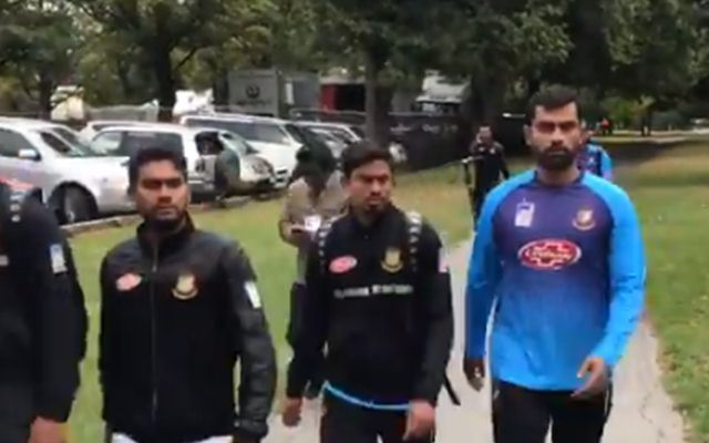 Bangladesh players including Tamim Iqbal were at the sight of shooting near Al Noor mosque   Twitter