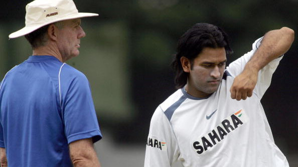MS Dhoni was always going to lead India, says Greg Chappell