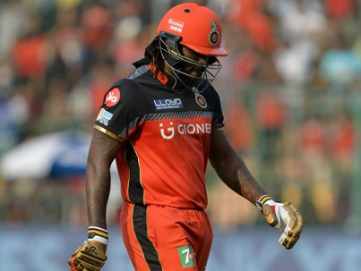 Chris Gayle's slowing reflexes and advancing age might hamper his retention by RCB | AFP