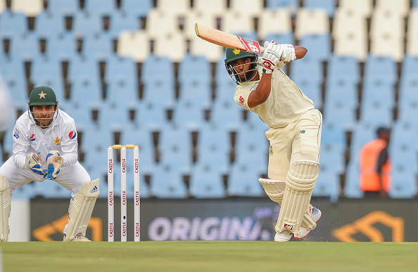 Bavuma struck a vital 53-run knock in the first innings | Getty